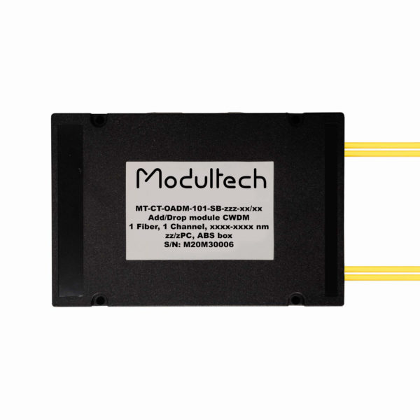 Модуль ввода/вывода CWDM, 1 канал, ABS box