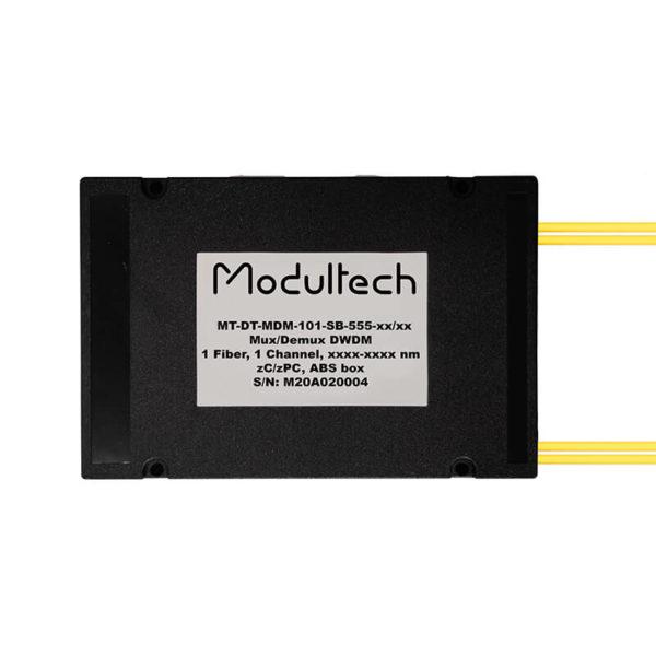 Мультиплексор DWDM, 1 канал, ABS box