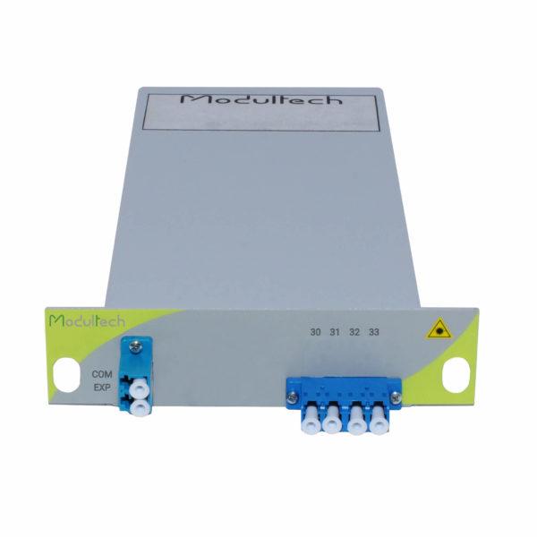 Мультиплексор DWDM, 2 канала, LGX 1/3