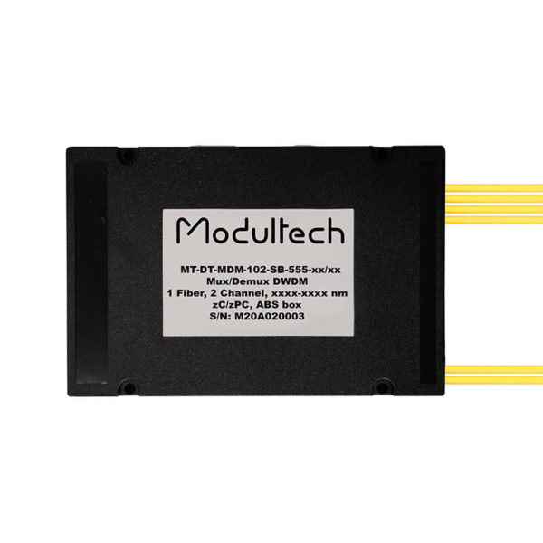Мультиплексор DWDM, 2 канала, ABS box