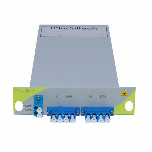 Мультиплексор DWDM двухволоконный, 1 канал, LGX 1/3