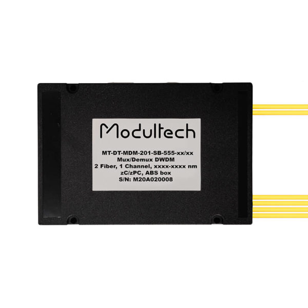 Мультиплексор DWDM двухволоконный, 1 канал, ABS box
