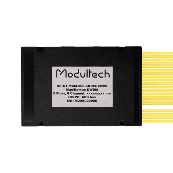 Мультиплексор DWDM двухволоконный, 8 каналов, ABS box