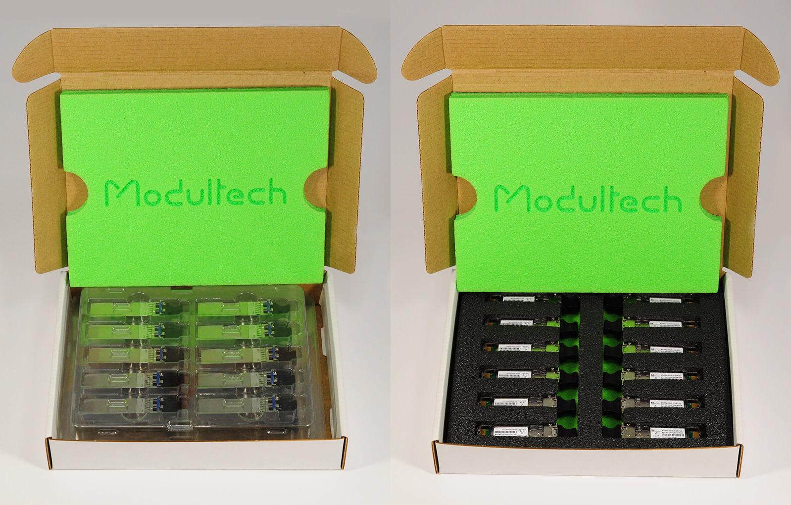 Два типа ложементов Modultech