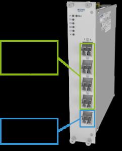 4х-канальный модуль ROADM