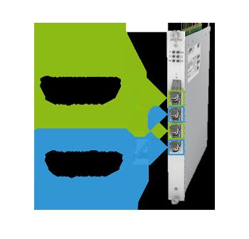 Двухканальный 10G транспондер