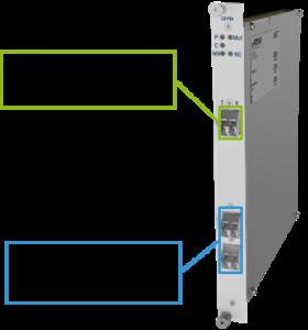 Модуль защиты оптической линии