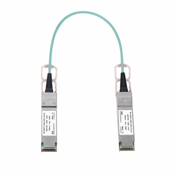 Оптический трансивер Active optical cable QSFP28, 100 Гбит/с, 15 м
