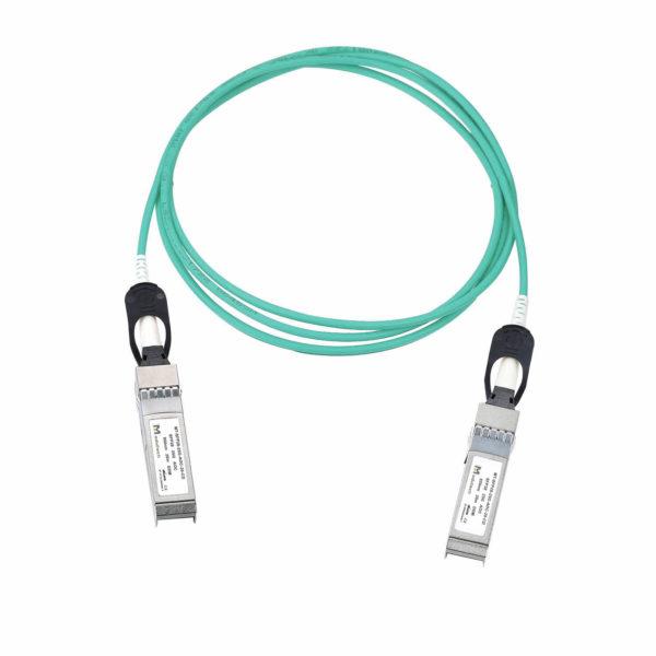 Оптический трансивер Active optical cable SFP28, 25 Гбит/с, 20 м