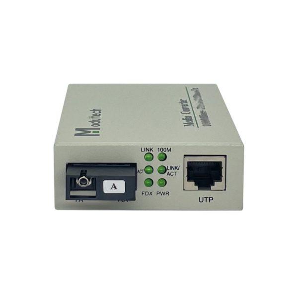 Медиаконвертер 1310/1550nm 20км 100FX 12V