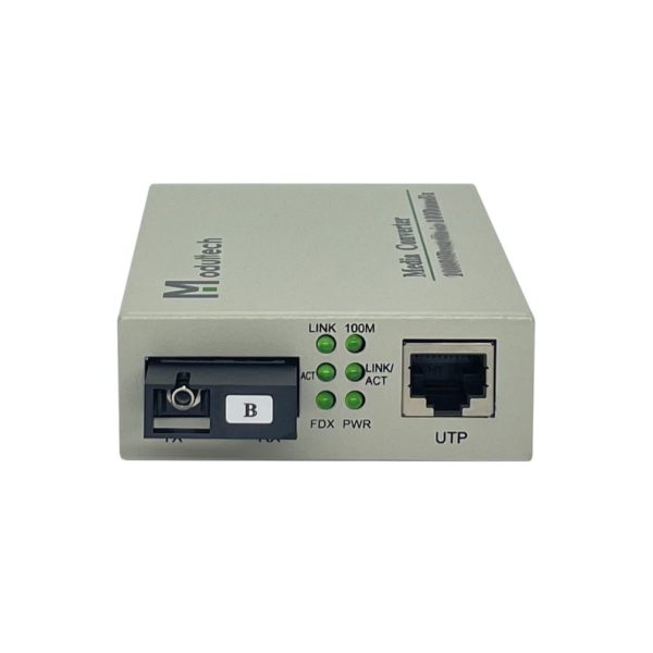 Медиаконвертер 1550/1310nm 20км 100FX 12V