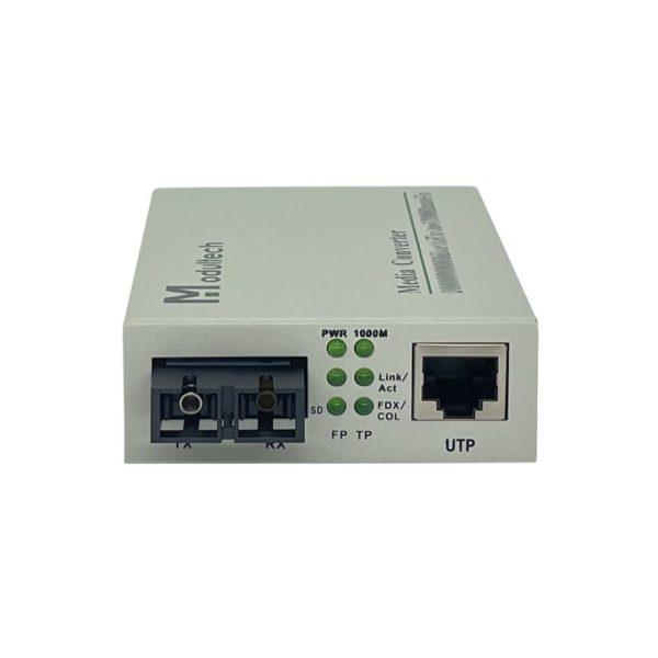 Медиаконвертер 1310 2км отдельностоящий