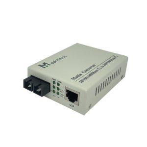 Медиаконвертер 100/1000M 1550 80kм SMF