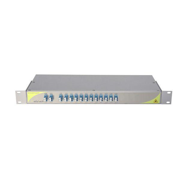 Мультиплексор CWDM двухволоконный 12-канальный
