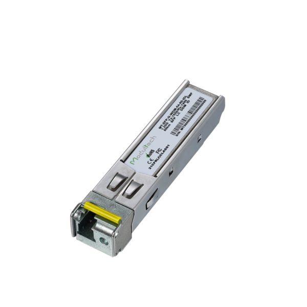 SFP WDM 1.25G 1550 80km LC индустриальный