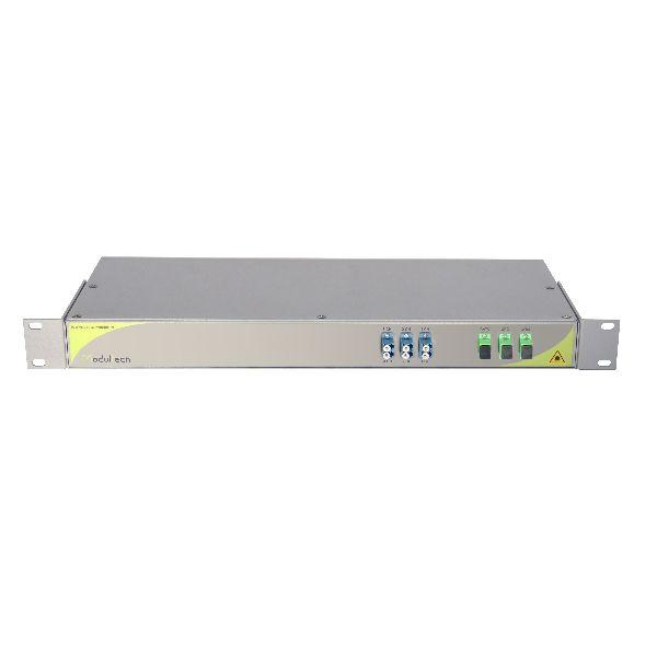Мультиплексор CWDM одноволоконный 3-канальный + выделенный канал TV1310