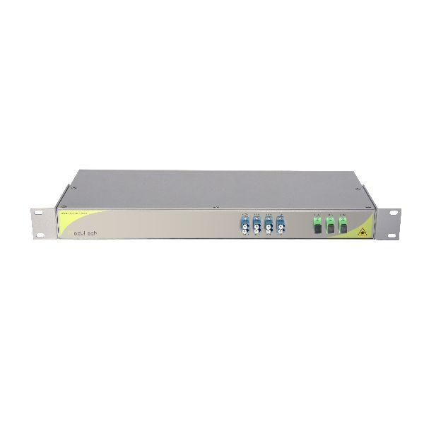 Мультиплексор CWDM одноволоконный 4-канальный + выделенный канал TV1310