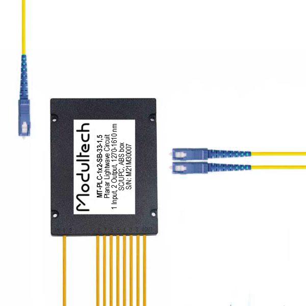 PLC-1x2 (ABS box) SC/UPC