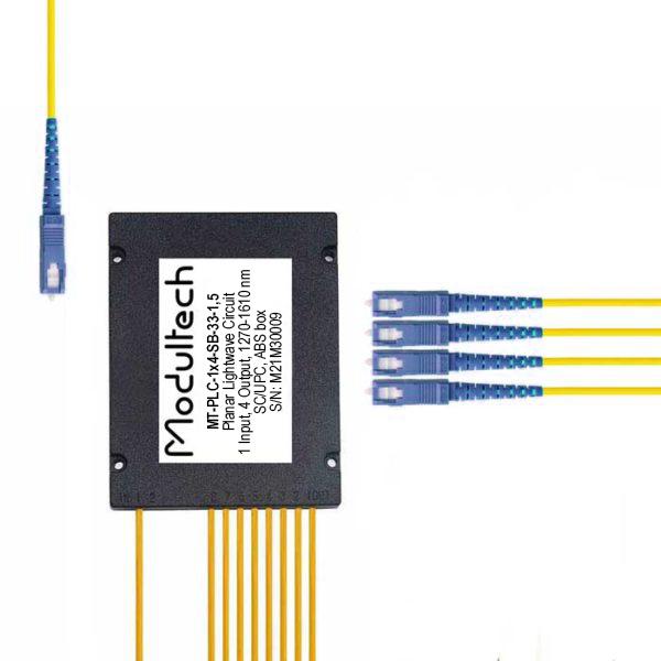PLC-1x4 (ABS box) SC/UPC
