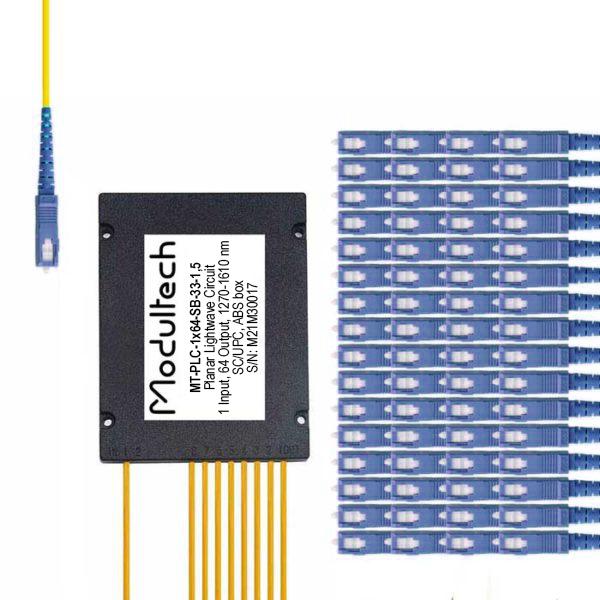 PLC-1x64 (ABS box) SC/UPC