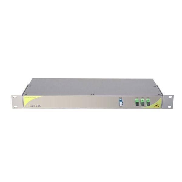 Мультиплексор CWDM одноволоконный 1-канальный (1530, 1550) + выделенный канал TV1310