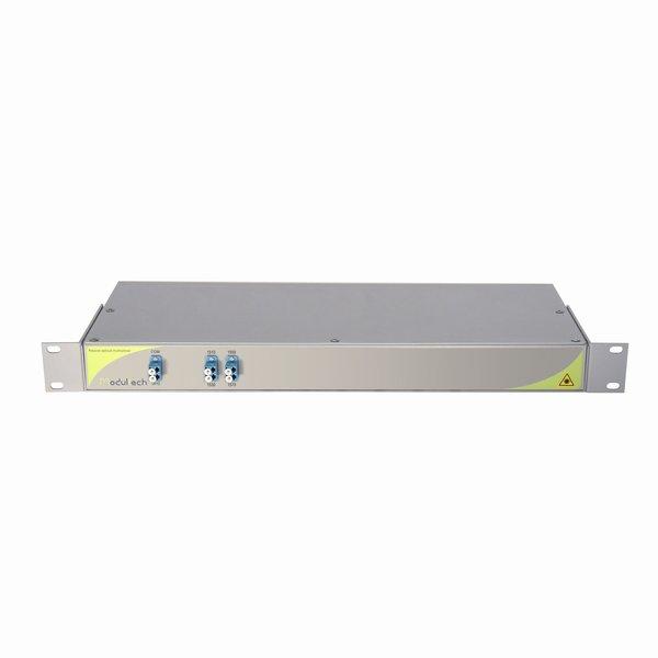Мультиплексор CWDM одноволоконный, однонаправленный, 2-канальный, 1510-1570нм, LC/UPC