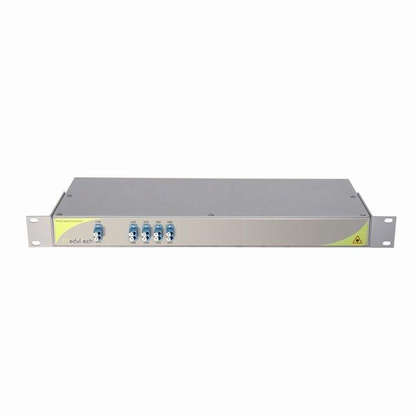 Мультиплексор CWDM одноволоконный 4-канальный, 1470-1610нм, LC/UPC