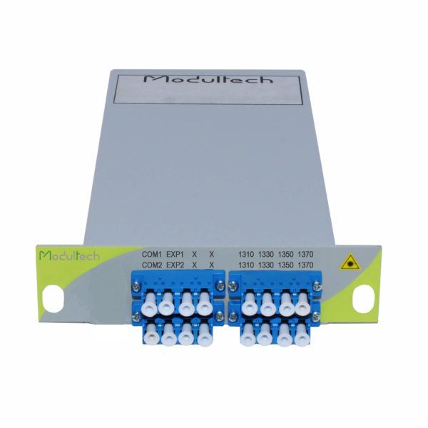 Мультиплексор CWDM, 4 каналa, 1310-1370, LGX 1/3