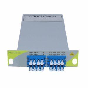 Мультиплексор CWDM, 4 каналa, 1510-1570, LGX 1/3
