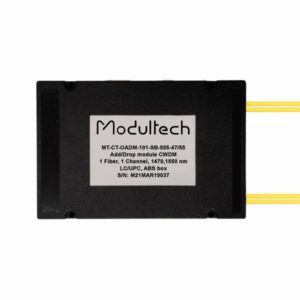 Модуль ввода/вывода CWDM, 1 канал, 1470, 1550нм, ABS box
