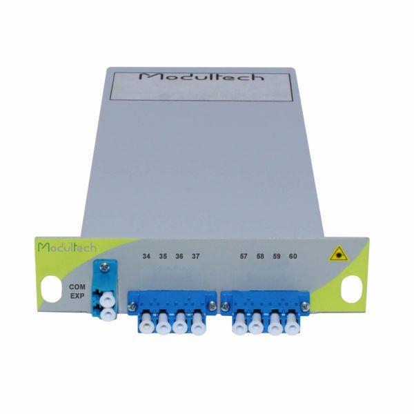 Мультиплексор DWDM, 4 канала (34-37, 57-60), LGX 1/3
