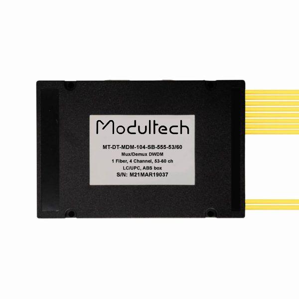 Мультиплексор DWDM, 4 канала (53-60), ABS box