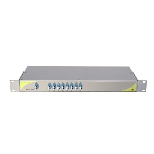 Мультиплексор DWDM одноволоконный 8-канальный (22-29, 45-52 CH)