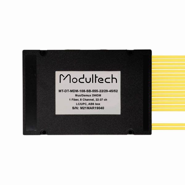 Мультиплексор DWDM, 8 каналов (22-29, 45-52), ABS box