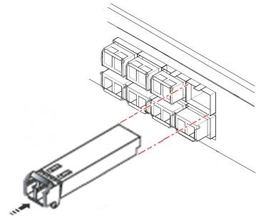 Схема подключение SFP модуля