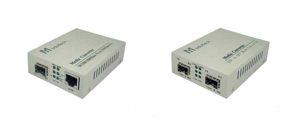 Медиаконвертеры c SFP портом и OEO
