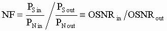 Формула расчета шум-фактора