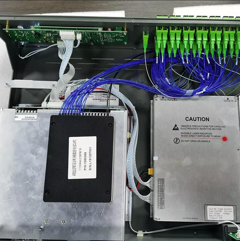 Внутреннее устройство EDFA усилителя